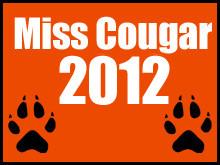 Miss Cougar 2012